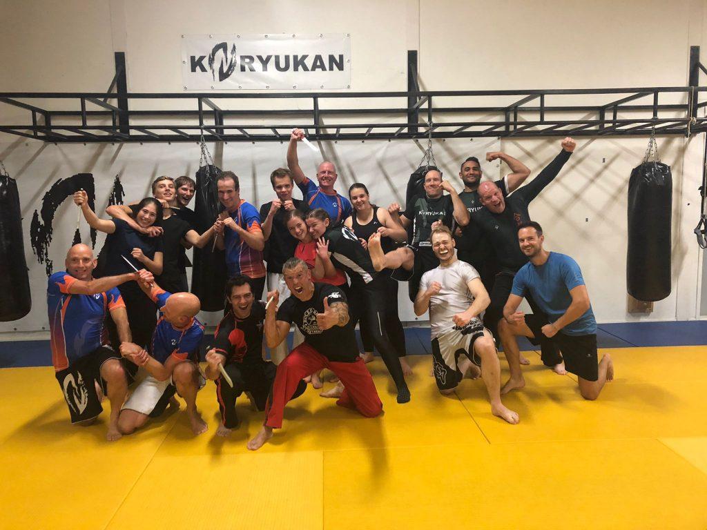 Doce Pares Eskrima bij Koryukan Fight Factory door Marcel van Dongen